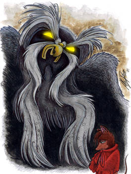 Mrs Brisby and the Great Owl