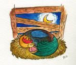 Asleep with the Rooster