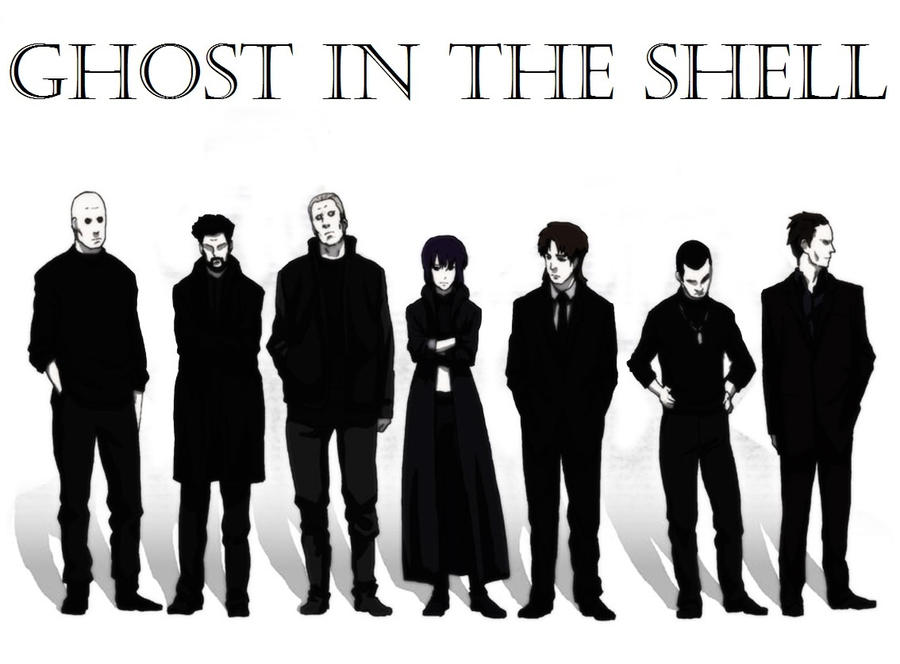 Ghost in the shell by nick511