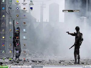 Crowded Desktop