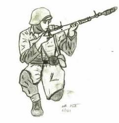 German rifle grenadier