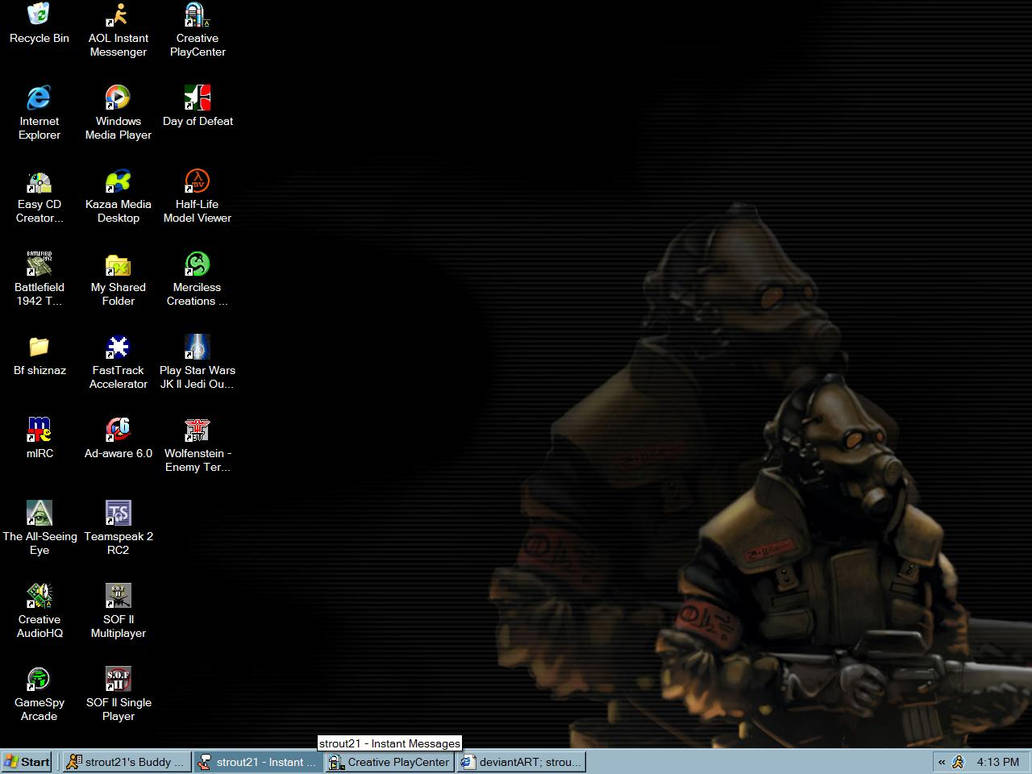 new desktop from strout