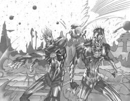 Green Lantern by CjB-Productions