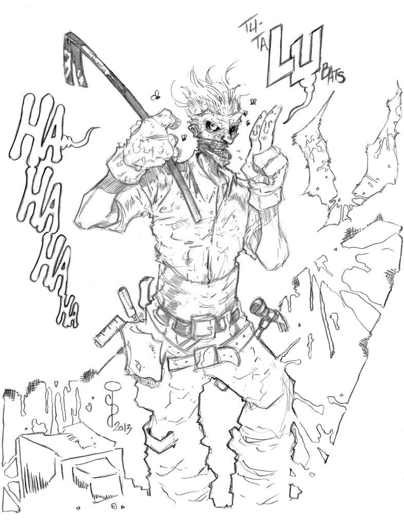 Joker sketch FINAL by CjB-Productions