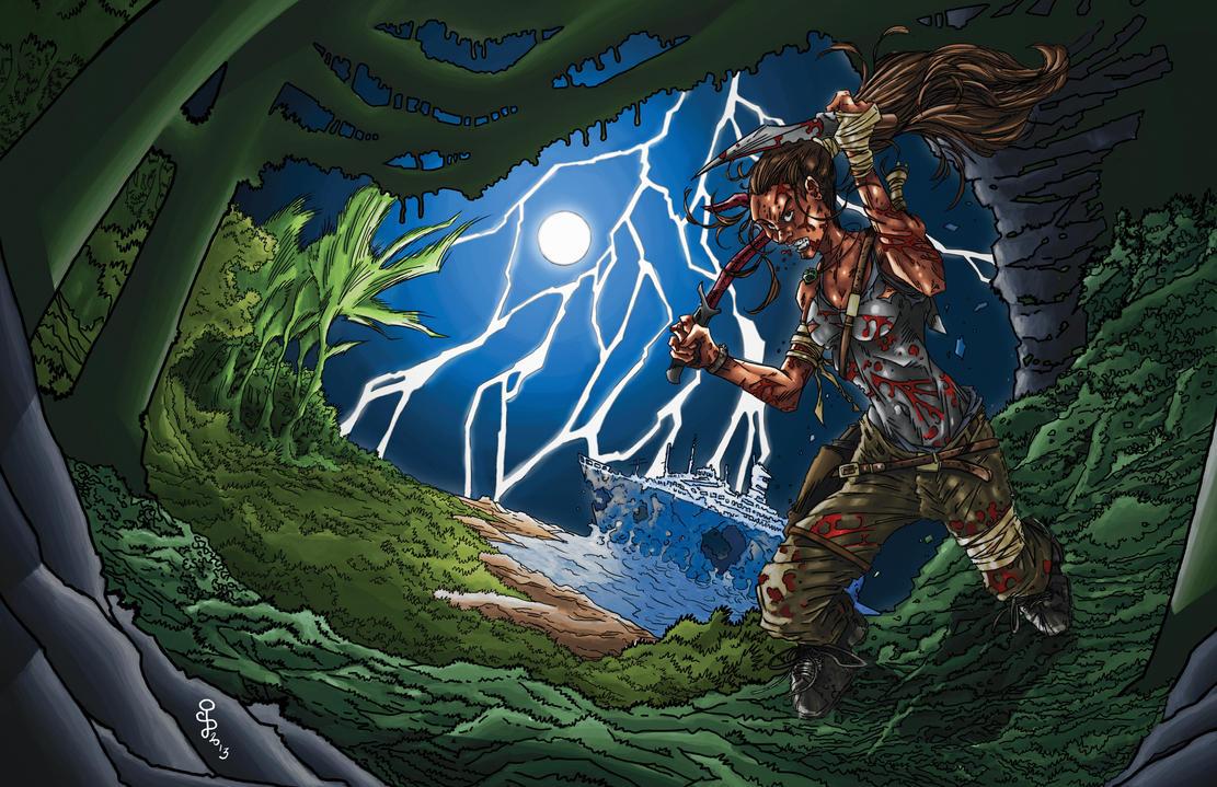Lara Croft Reborn by CjB-Productions