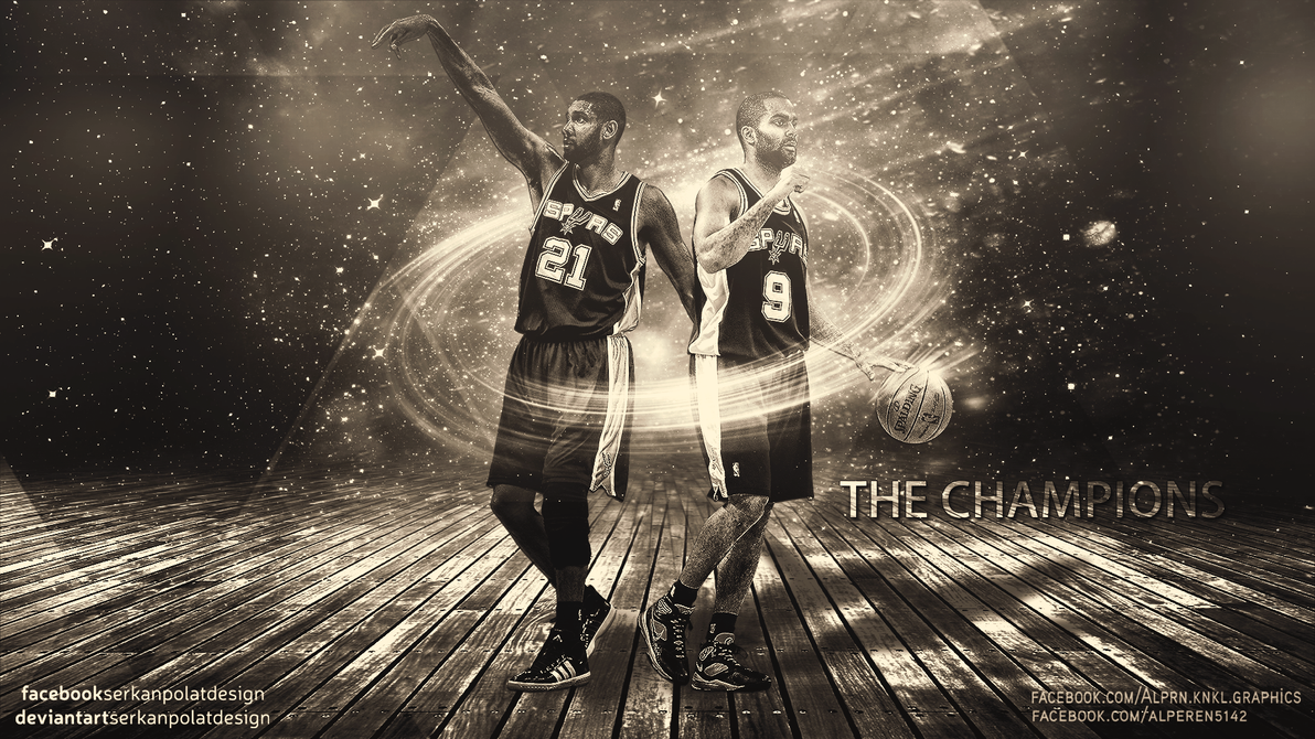 San Antonio Spurs Wallpaper By Serkanpolatdesign