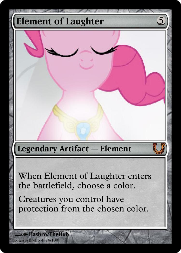 MLP_FiM_MTG-ElementofLaughter by pegasusBrohoof