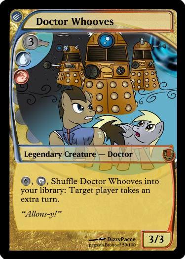 MLP_FiM_MTG - Doctor Whooves by pegasusBrohoof