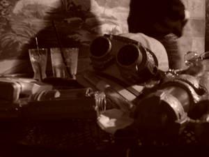 steampunk still life