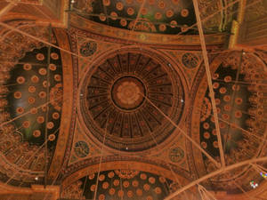 Mosque ceiling, Egypt