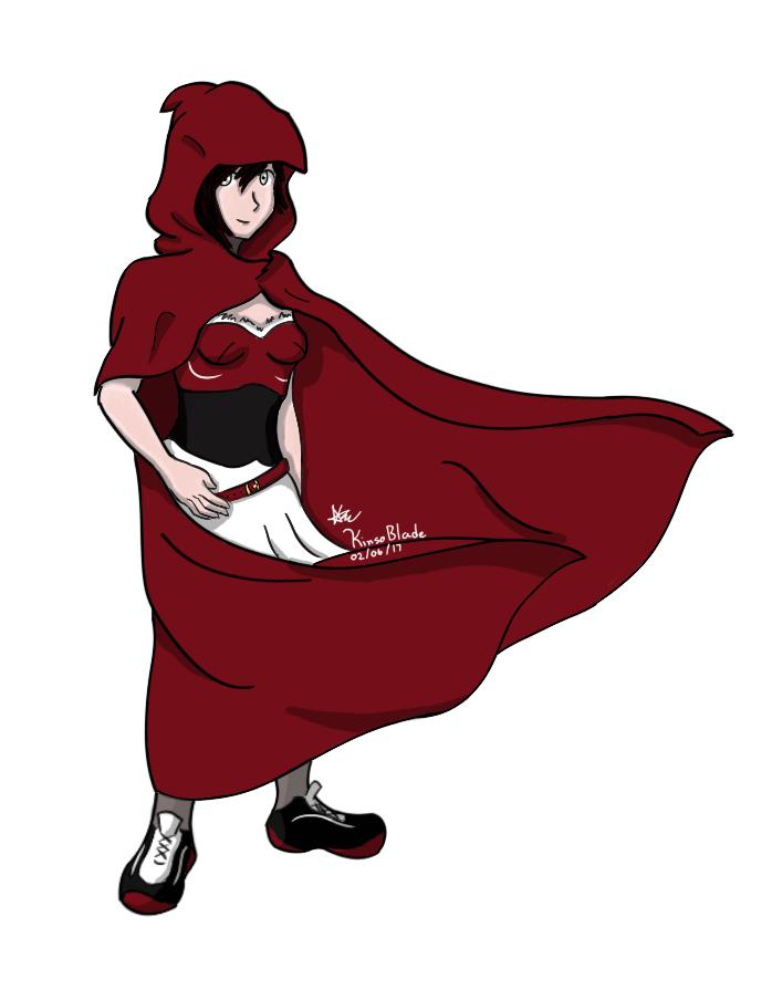 Ruby Rose - RWBY by KinsoBlade