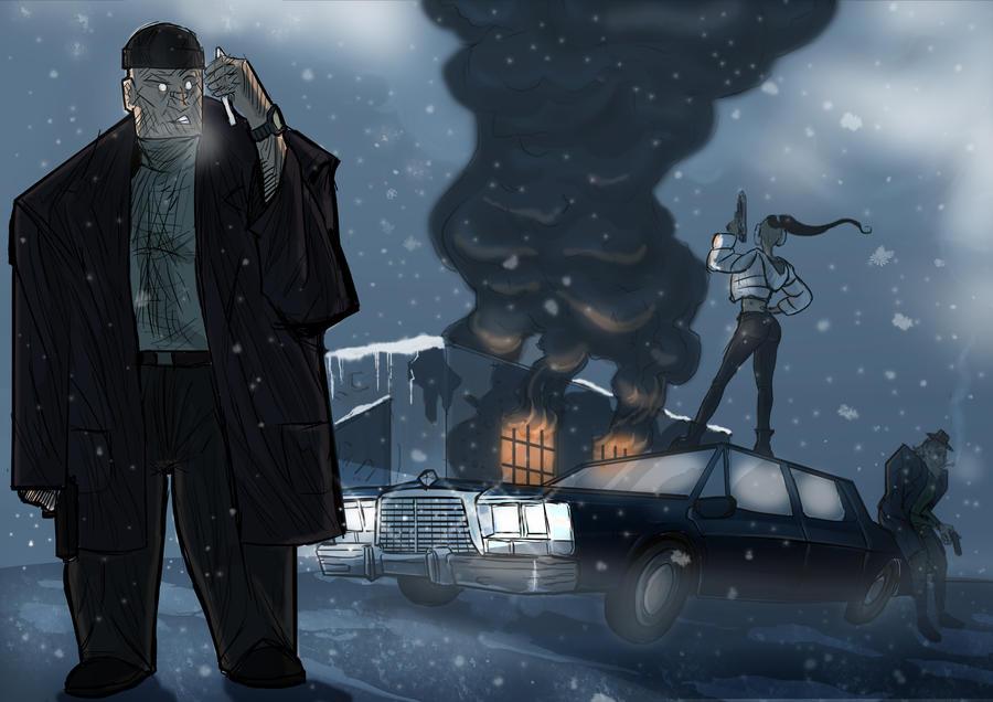 winter mafia by remzierdem