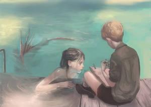 Mermaid and boy2