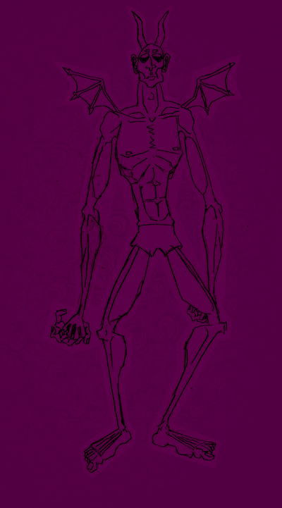 Lanky Demon by MetsL