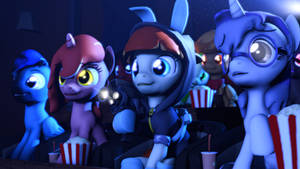 (Sfm Remastered) Movie Night