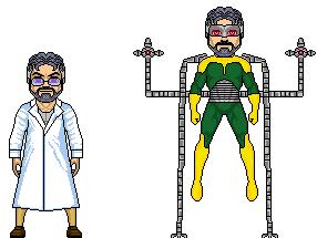 Dr.Octopus- MCU Version by GrimlockMegatron