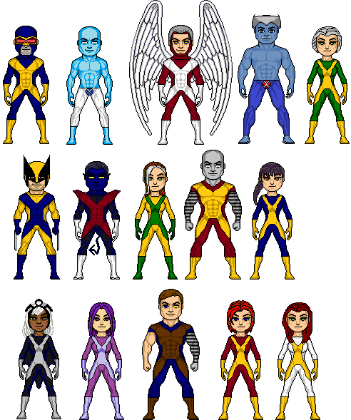 X-Men - The Marvel Cinematic Universe Version by GrimlockMegatron