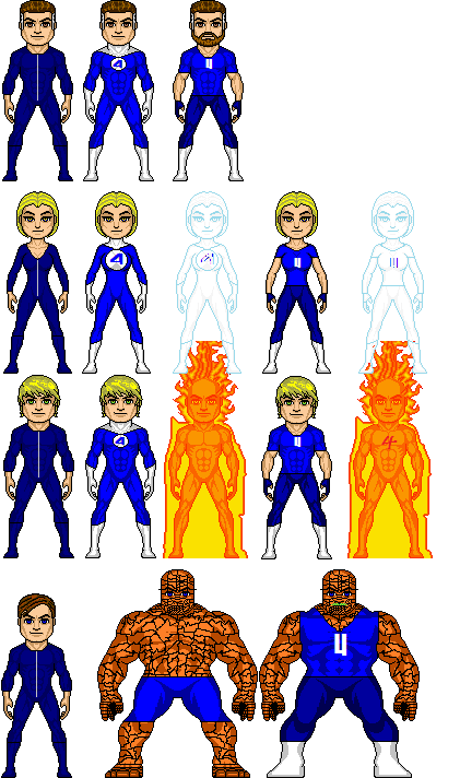 Fantastic Four-MCU by GrimlockMegatron