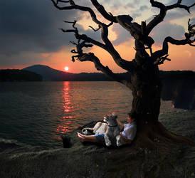 Lake ... real ... by SolarMew