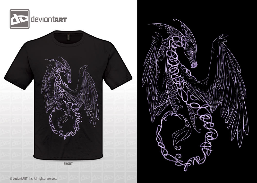 Dragon T Shirt Design By Enchantress Lele On Deviantart