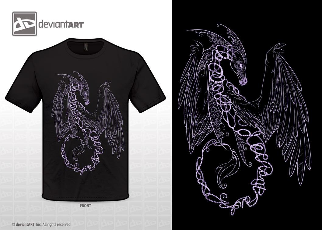 Dragon T-shirt Design by Enchantress-LeLe