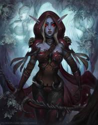 Sylvanas and the Val'kyr