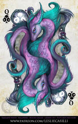 Savage Majesty: Queen of Clubs by Enchantress-LeLe