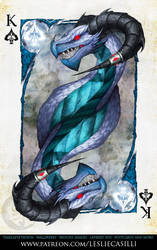 Savage Majesty: King of Spades by Enchantress-LeLe