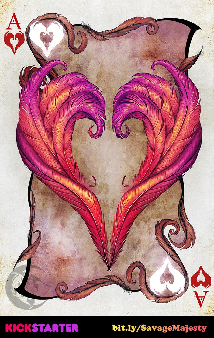 Savage Majesty: Ace of Hearts by Enchantress-LeLe