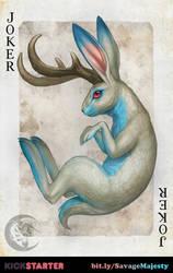 Savage Majesty:  Blue Joker by Enchantress-LeLe