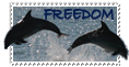 Freedom Stamp by MyStamps