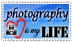 Photography Is My Life Stamp by MyStamps
