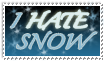 I Hate Snow by MyStamps