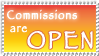 Commissions - Open by MyStamps
