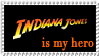 Indiana Jones 2 by MyStamps