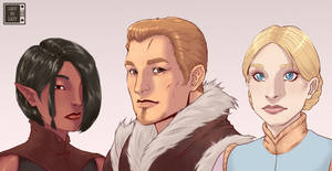 Dragon age King, Qieen and Mistress