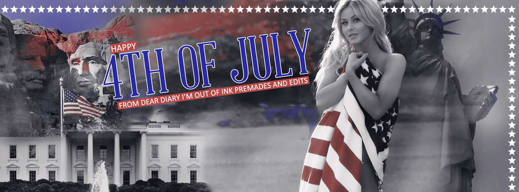 4th Of July | Timeline Cover #54 by ElenaGraveyardgirl