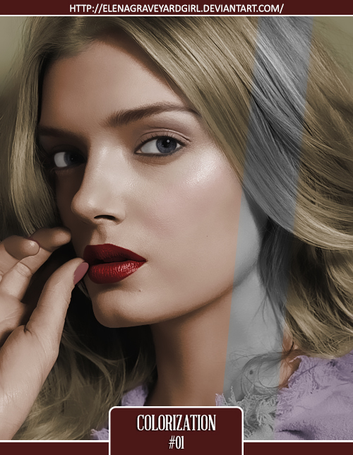 Colorization | #01 by ElenaGraveyardgirl