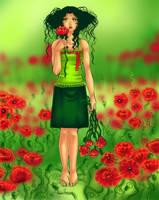 Wild poppy by lilifane