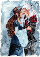 The winter rose and the dragon prince by lilifane