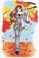 Autumn walk by lilifane