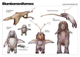 The Diversity of Blumbomen by nemo-ramjet