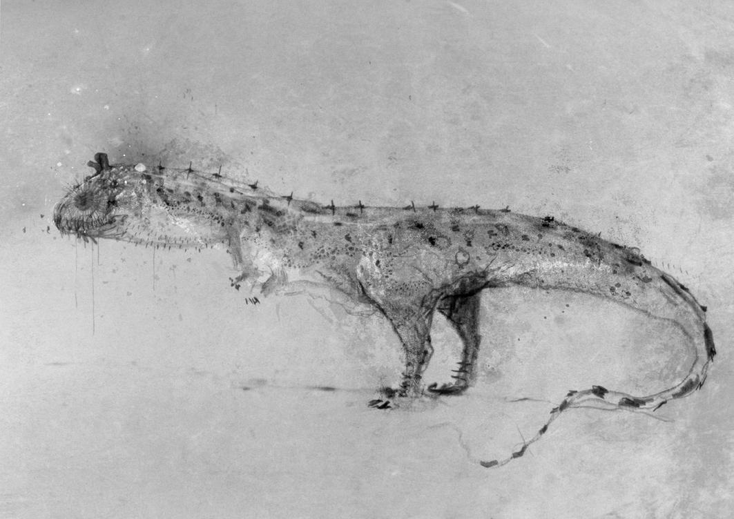 Majungasaurus crenatissimus by nemo-ramjet