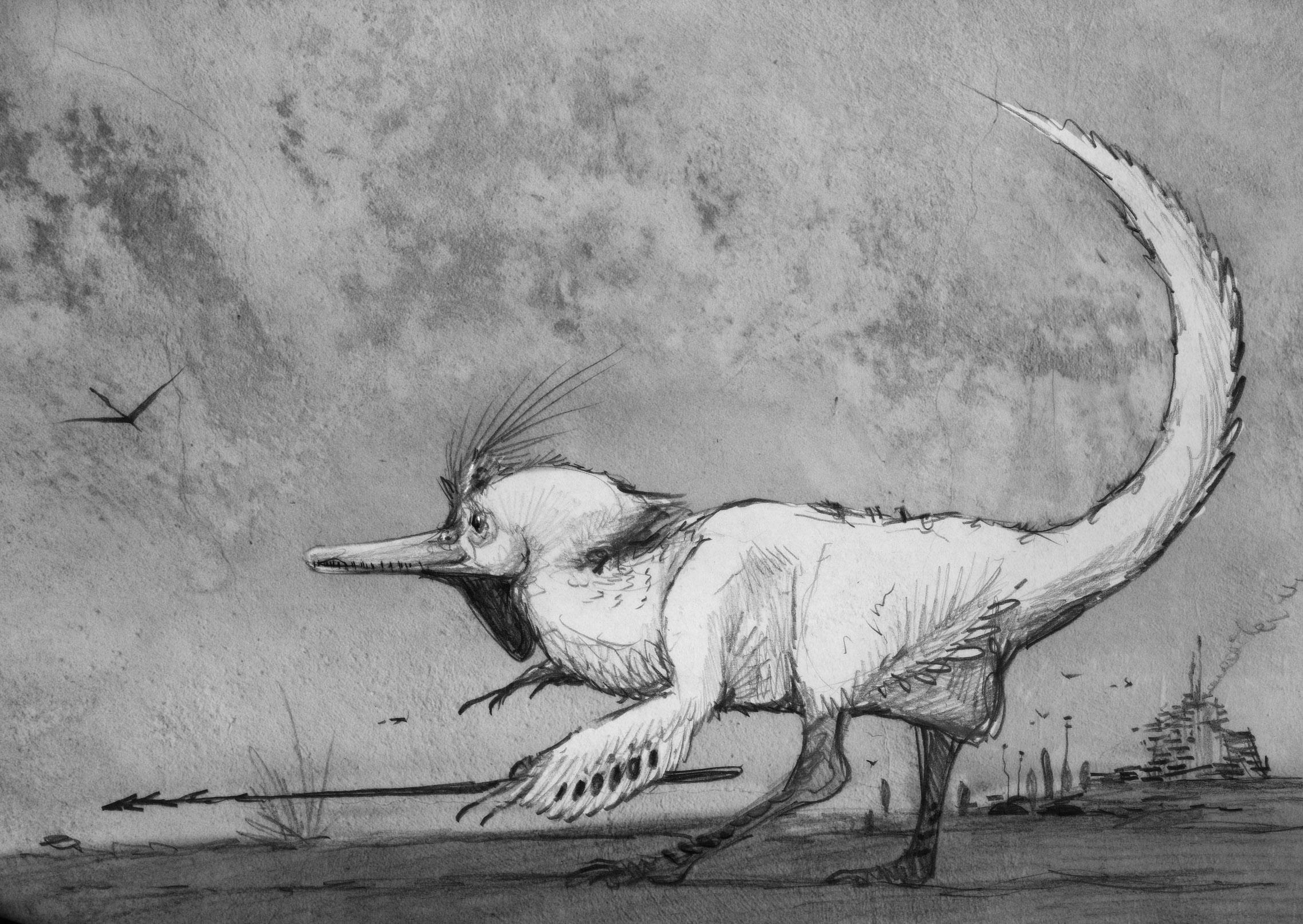 Dinosauroid Surprise