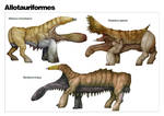 The Diversity of Allotaurs