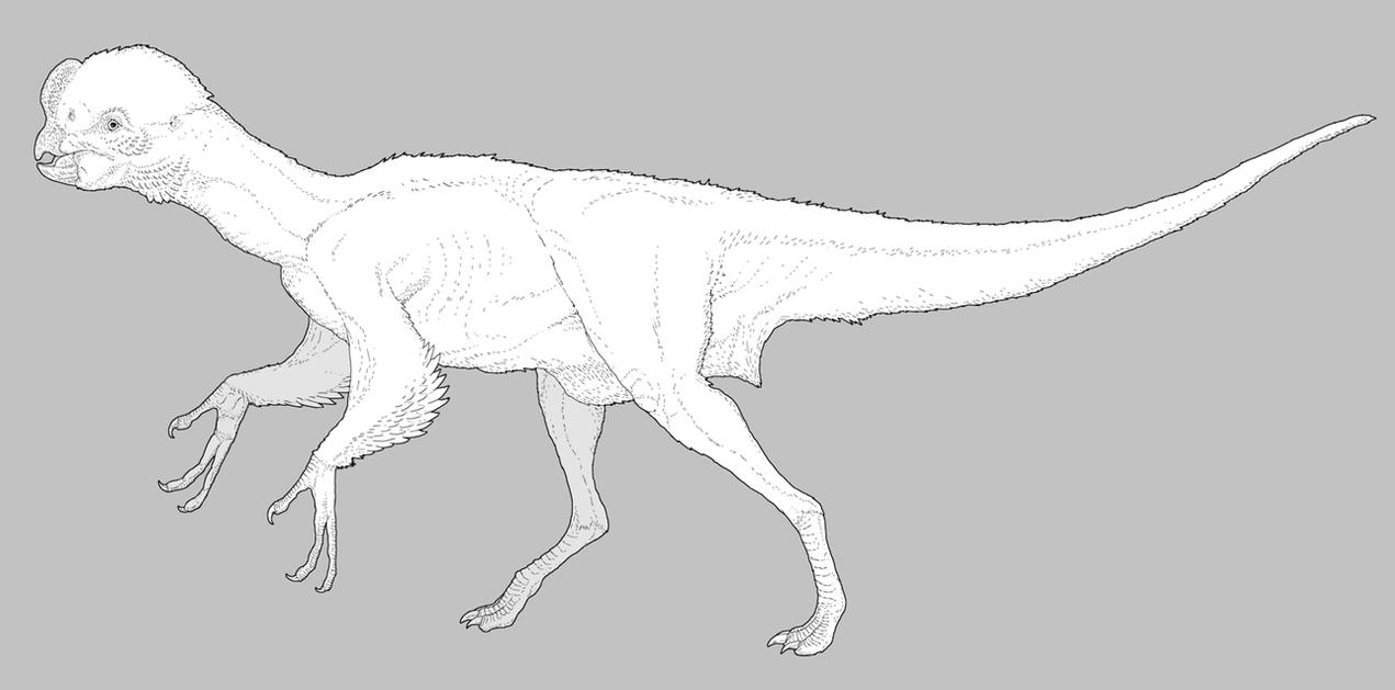 Intelligent Oviraptorosaur by nemo-ramjet