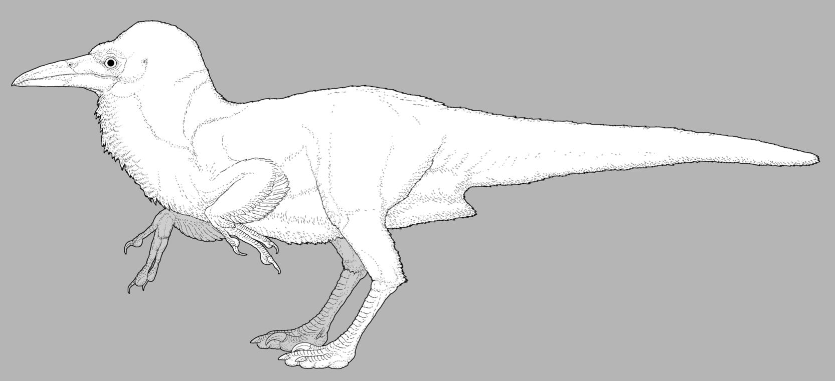 Simon Roy's Black Dinosauroid by nemo-ramjet