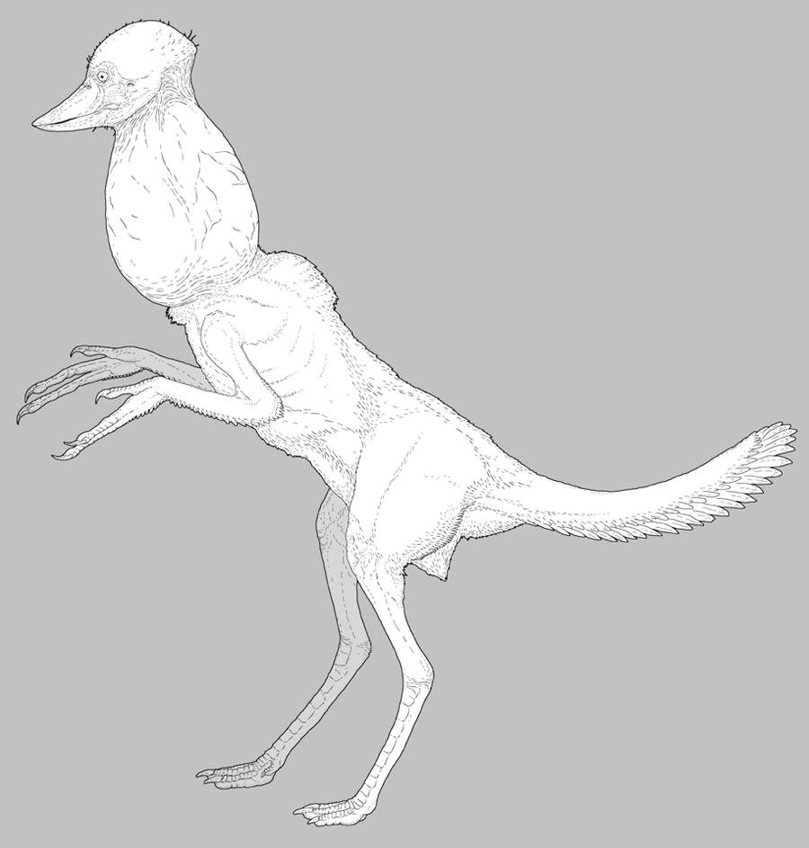 Retro-Humanoid Dinosauroid by nemo-ramjet