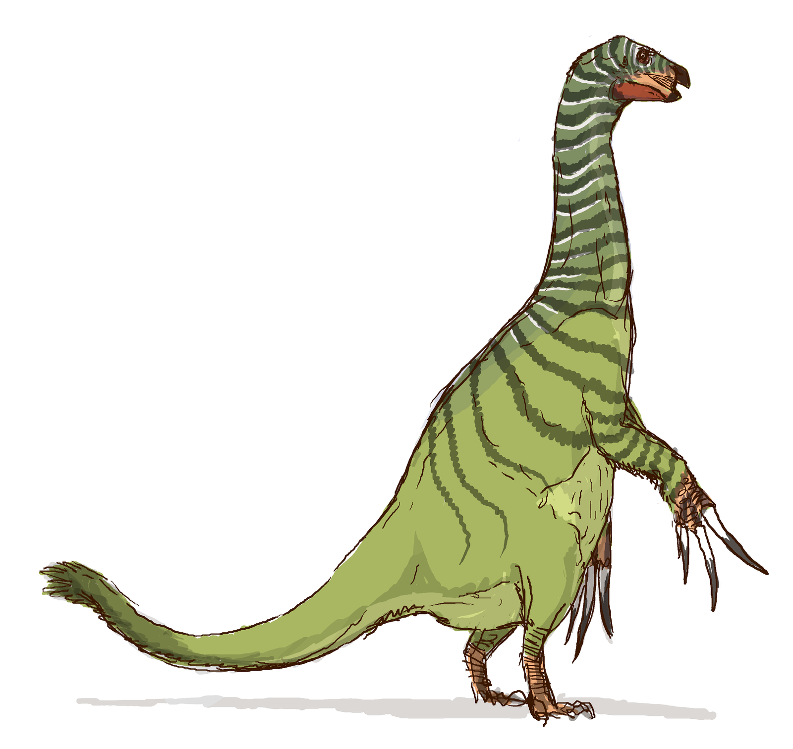 Therizinosaurus by nemo-ramjet