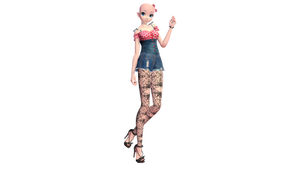 [MMD] Watcher's gift 250+! Outfit #1 [DL] by Lauraimon